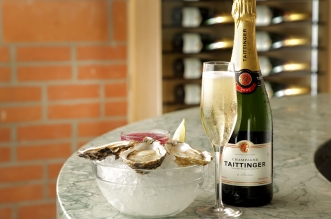 taittinger and oyster offer