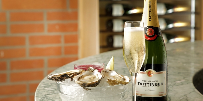 taittinger and oyster offer